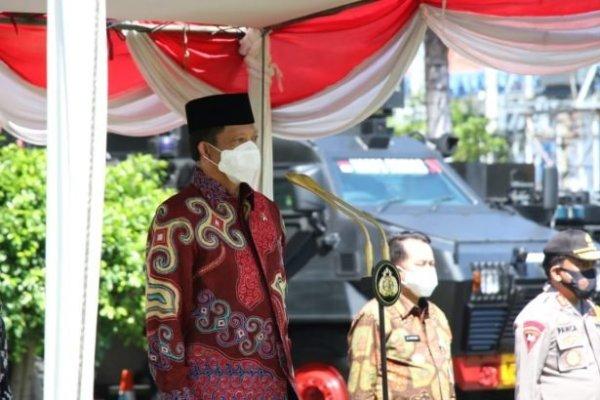 Mendagri Pimpin Apel Pergeseran Pasukan Jelang Pilkada di Polda Sulut, Ini Pesannya