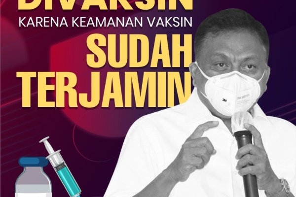 Putuskan Pandemi di Sulut, ODSK Sulut Launching Vaksinasi Covid-19 di RS Kitawaya Manado