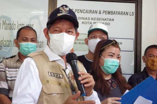 Walikota Buka Pencanangan Vaksinasi Covid-19 di Kota Manado