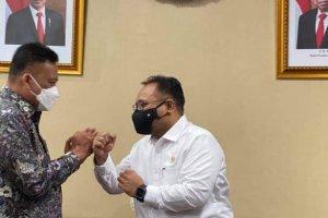 Gubernur Olly Temui Menag, Bahas Harmonisasi Beragama