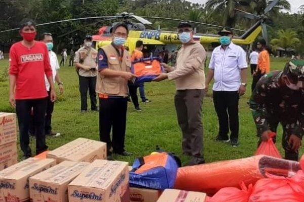 ODSK Gerak Cepat Salurkan Bantuan Untuk Korban Banjir di Sangihe