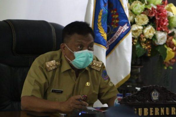 Dipimpin Jokowi, Gubernur Olly Ikuti Rapat Penanganan Covid-19 dan Rencana Vaksinasi
