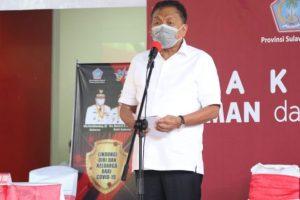 Gubernur Olly Launching Vaksinasi Covid-19 di Sulut, Ini Pesannya