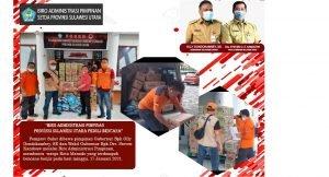 Pemprov Sulut Gerak Cepat Salurkan Bantuan Untuk Korban Banjir dan Longsor di Manado