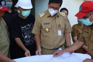 Tinjau Pembangunan RSJ Ratumbuysang Kalasey, Wagub Kandouw : Ini Untuk Melengkapi Fasilitas RS di Sulut