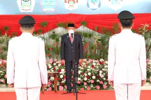 Gubernur Olly Ingatkan Sumpah Janji Bupati Walikota Disaksikan Tuhan