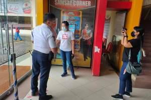 Tetap Prokes, Samsat Manado Kembali Buka Corner Megamal