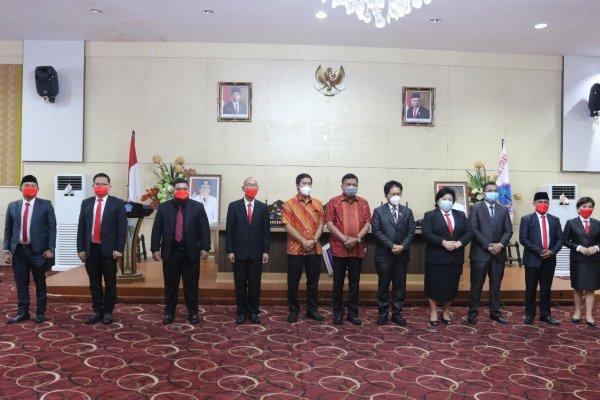 Gubernur Olly Lantik KPID Sulut Periode 2021-2024