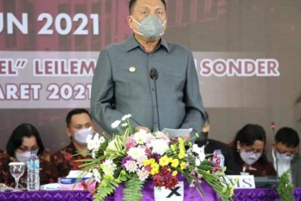 Gubernur Olly Harap SMSI GMIM Lahirkan Perubahan, Pembaharuan dan Terobosan Baru