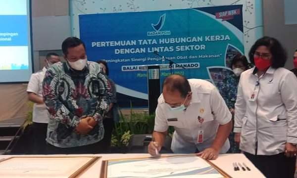 Pemprov Sulut Apresiasi Pencanangan Pembangunan Zona Integritas BBPOM Manado