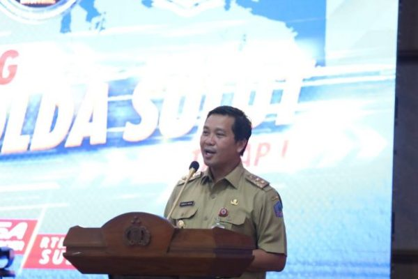 ETLE Resmi Diluncurkan, Wagub Kandouw Optimis Dapat Meningkatkan Pendapatan Daerah