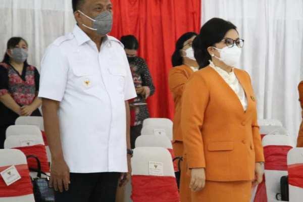Gubernur Olly Dukung Eksistensi BKOW Sulut dalam Pembangunan