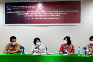 Kaban DLH Sulut Tutup  Rekonsiliasi KLHS, Rekomendasikan 4 Hal