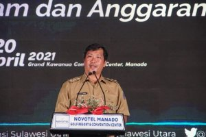 Pilgub Aman, Lancar dan Sukses, Wagub Kandouw Salut Kinerja KPU Sulut