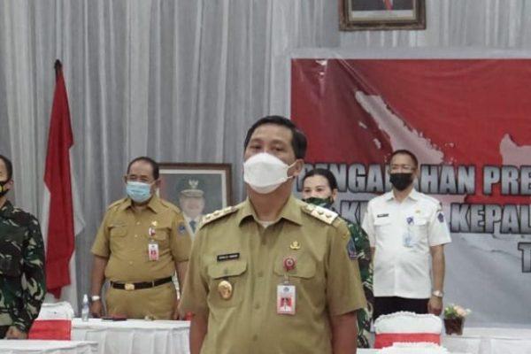 Bahas Penanganan C-19, Wagub Kandouw Rapat Virtual Bersama Jokowi