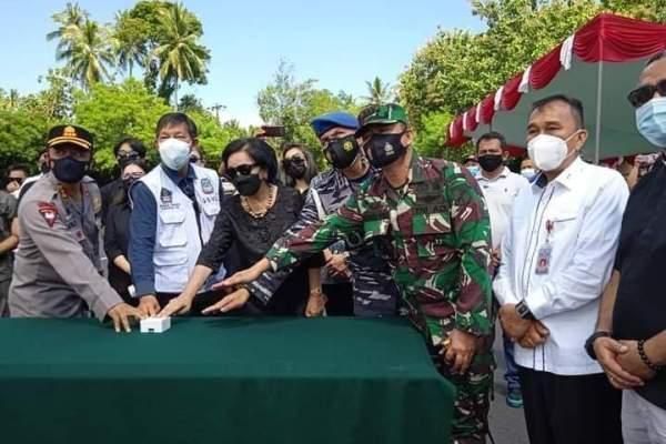 Walikota GSVL Resmikan Jalan Dr Sinyo Harry Sarundajang