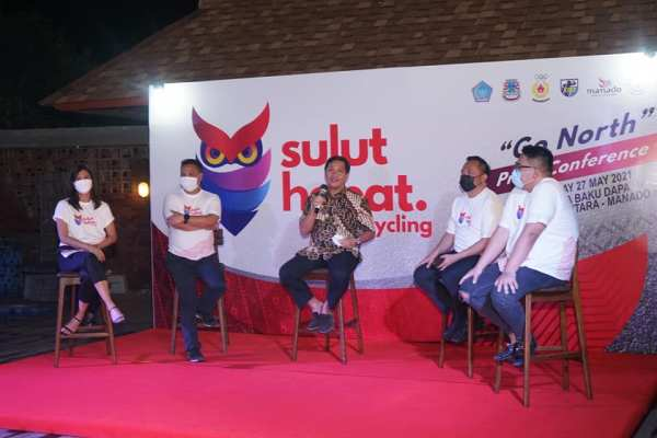 'Tour de North Sulawesi' Pesona Minahasa Lewat Sulut Hebat Cycling