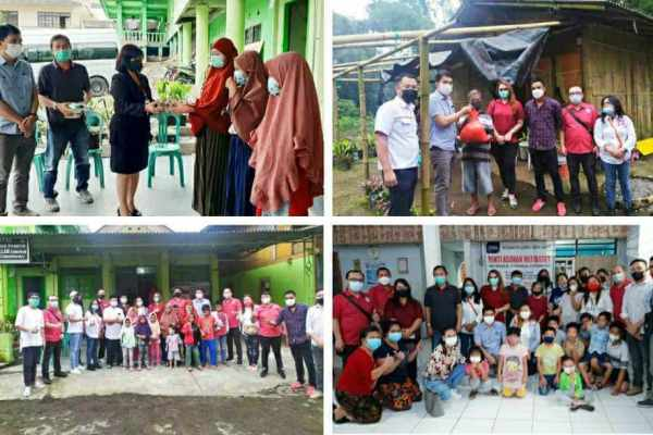 Baksos Ramadhan, JIPS Bantu Lansia dan Panti Asuhan di Tomohon