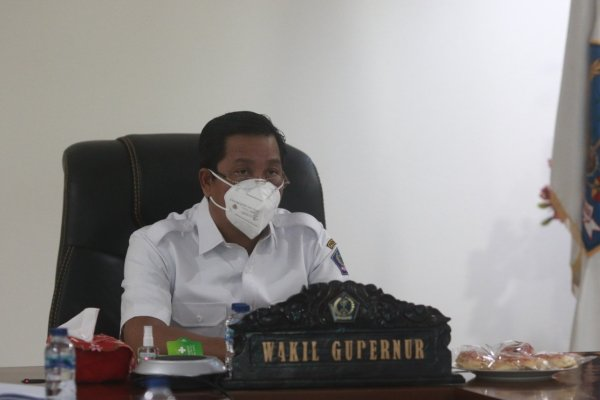 Wagub Kandouw Hadiri Rakornas Wasin 2021, Presiden Jokowi : Peran Pengawasan Harus Ditingkatkan