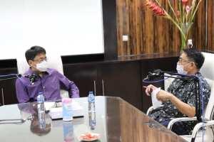Ikuti Program GYMC Talks GMIM, Walikota Angouw: Ini Program Nasional melalui Pemkota Manado lewat Program Vaksinasi Hebat