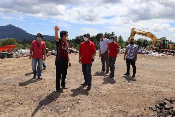 Kembali Tinjau TPA Sumompo, Walikota Angouw Berharap Dimanfaatkan Untuk Pupuk, dan Energi Listrik