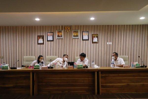 Bicarakan Drainase, AARS Rapat Teknis dengan Para Camat se Kota Manado