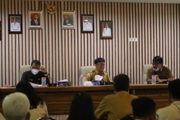 Walikota Angouw  Lakukan Pertemuam Teknis Dengan Bapenda Kota Manado