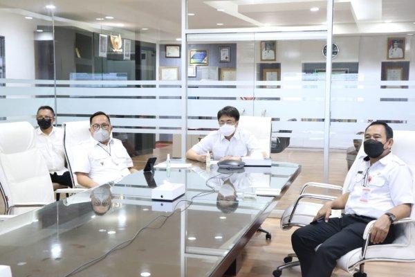 Vidcon Bersama Menko Perekonomian, Manado Tertinggi Secara Nasional Capaian Vaksinasi