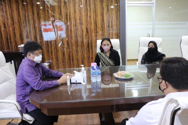 Pertahankan Zona Hijau, Walikota Angouw Terima Ombudsman