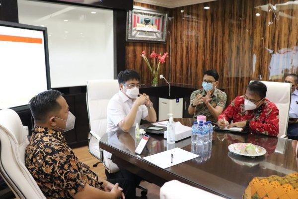Rapat Teknis Soal Aset Pemkot di Kima