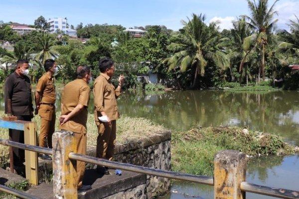 Walikota Manado Kunjungi Waduk Permai Teling Kecamatan Wenang lanjut ke Gunung Tumpa