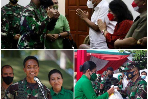 Gubernur Sulut Olly Dondokambey Sambut Kasad Andika Perkasa Tinjau Latma Garuda Shield ke-15 Minut dan RS Wolter Monginsidi Manado