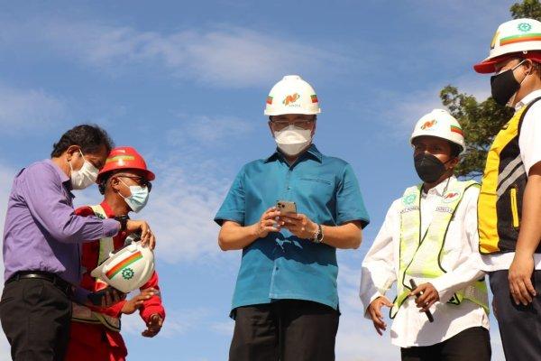 Walikota Kunjungi Lokasi Penataan Pantai Malalayang