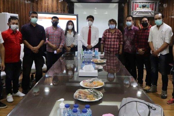 APM Audiensi dengan Walikota Manado