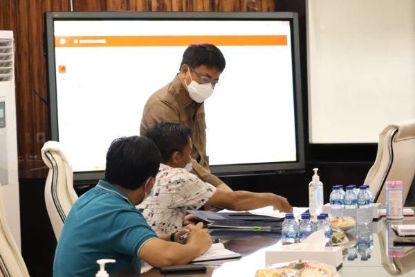 Walikota Rapat Teknis Dengan BPKH Wilayah VI