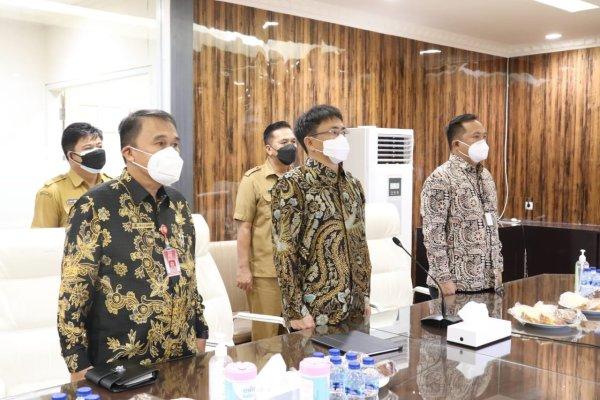 Lounching Pengelolaan bersama MCP Pencegahan Korupsi