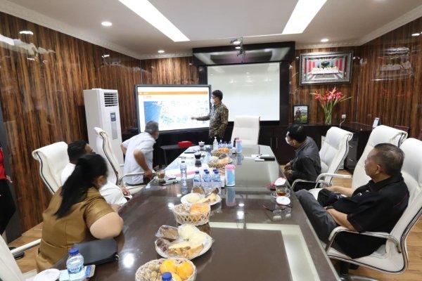 Walikota Bertemu Anggota DPRD Provinsi Sulut Dapil Manado