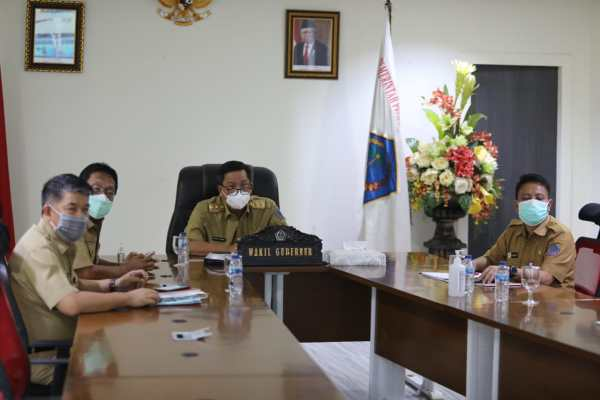 Diresmikan Presiden Jokowi, Wagub Kandouw Ikuti Peluncuran OSS Berbasis Risiko