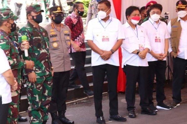 Walikota Manado Hadiri Undangan Kunjungan Panglima TNI