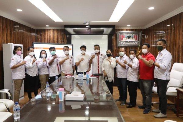 DPW GPMN Sulut dan DPD GPMN Audiensi dengan Walikota Manado