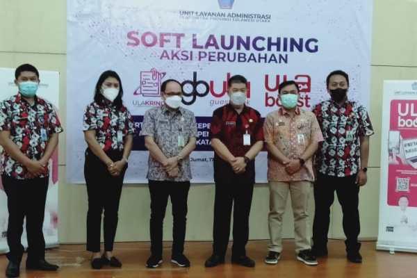 "Pemprov Sulut Soft Launching Aplikasi ""ULA KRING"", ""GuestBookULA"" dan ""ULA BOOST"""