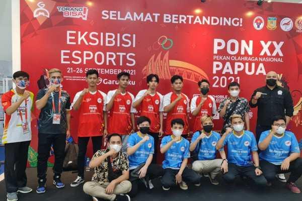 Tim Mobile Legends Sulut Raih Medali di PON XX Papua