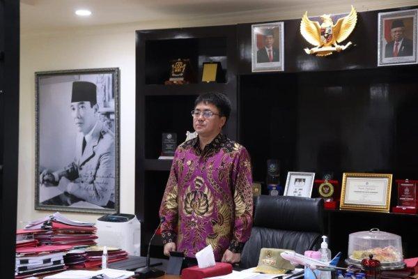 Walikota Angouw Ikuti Pembekalan Kepemimpinan Pemerintahan Dalam Negeri