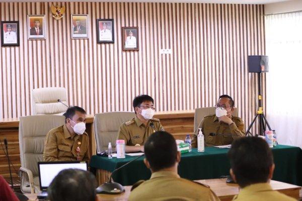 Walikota dan Wakil Walikota Cek Pelaksanaan Vaksinasi di Kota Manado
