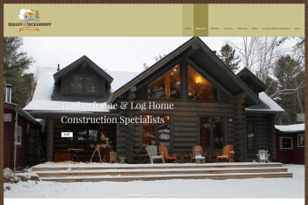 Kealey & Tackaberry Log Homes: This Ottawa-based custom log home builder needed an updated logo and website in order to compete and excel in today's marketplace. They do this by emphasizing sustainability in a big way while building homes that are as energy efficient as possible. Their new branding and website is designed to represent both the traditional nature of the build as well as their creative and modern process. It emphasizes a seamless integration into the environment, a sense of living lightly, with a small carbon footprint. To see the full site please go to: https://kealeytackaberryloghomes.com.