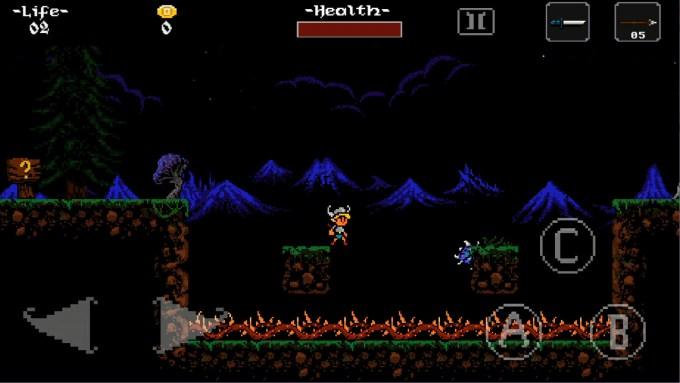 ghoulboy ゲーム画面2
