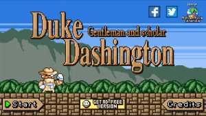 Duke Dashington タイトル画面