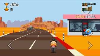 Retro Highway 暑そうで砂埃感が伝わってきますね