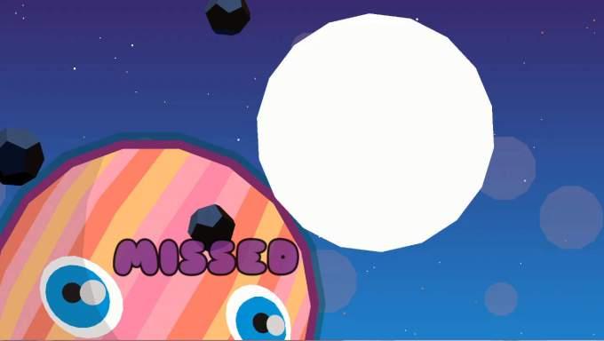 PlanetQuest ゲームオーバー