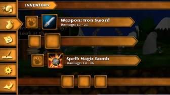 Swordigo ステータス画面